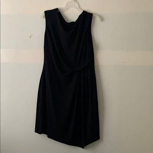 Ann Taylor gathered waist sheath dress